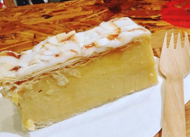 Vegan Vanilla Slice
