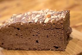 Chocolate Chia Seed Brownie