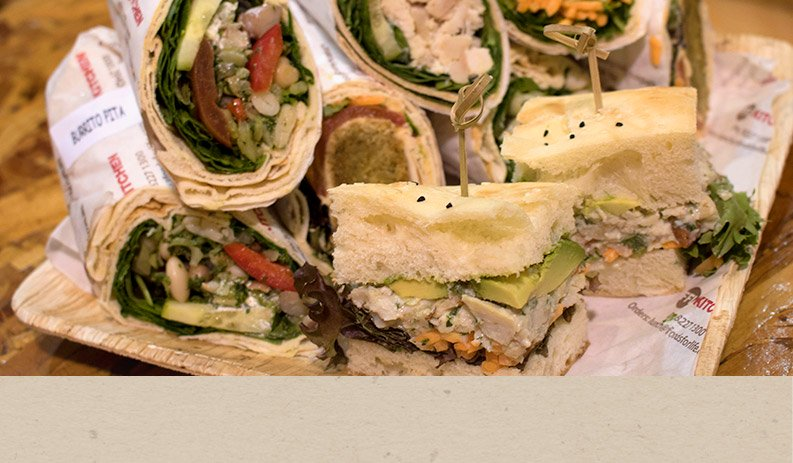 Healthy Office Catering options in the CBD