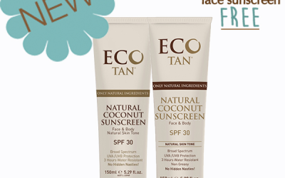ECO TAN BUY ONE GET A FACE SUNSCREEN FREE FOR ONLY $23.95